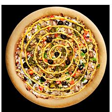 بيتزا دجاج التاكو