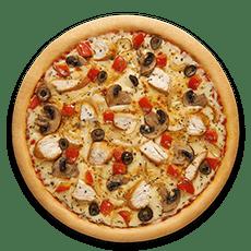 بيتزا دجاج مشوي