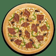 بيتزا ستيك وجبنة