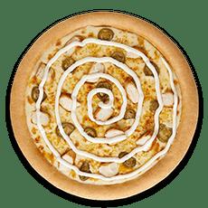 بيتزا هلابينو دجاج