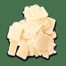 جبنة البارميزان المبشورة